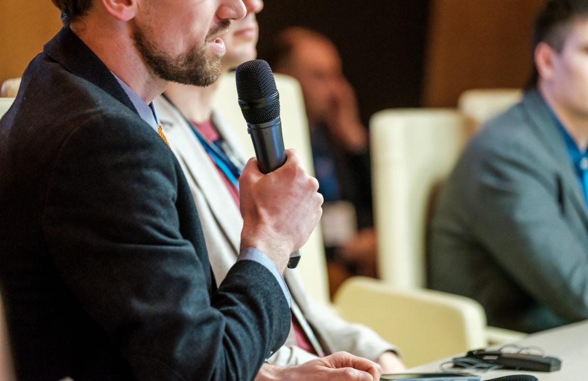 relatore conferenza - evento wifi